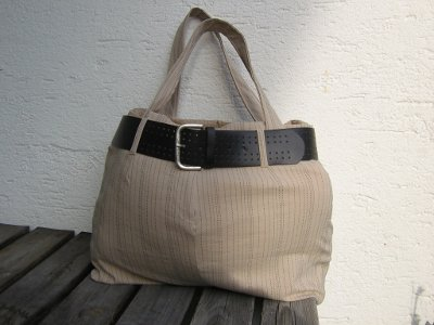 recycle-style, die Tasche aus der Hose, farbenmix