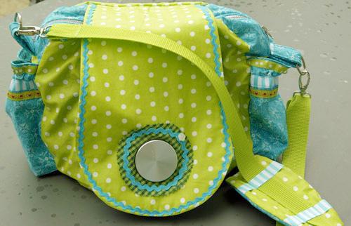Taschen-Schnittmuster Fototasche Kameratasche, farbenmix