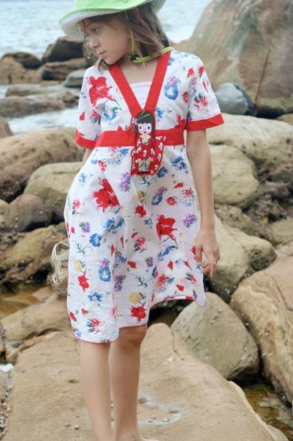 Schnittmuster Kimono-Bluse, Anleitung farbenmix