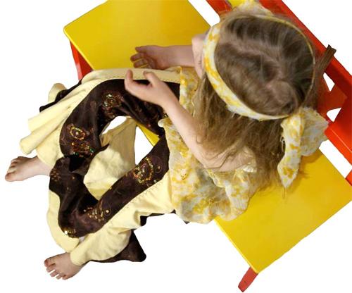 Schnittmuster Hose für Mädchen, farbenmix, Anleitung