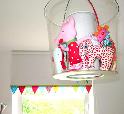 Apothekerschrank Einsatz Ikea ~ Kinderzimmer – liebevolle Deko nähen » IKEA, Eimerlampe, HUUPS