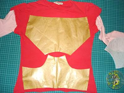 recycle-style: aus einem alten Shirt wird Unterwäsche, farbenmix