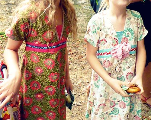 Schnittmuster Kleid Blumenkinder, farbenmix
