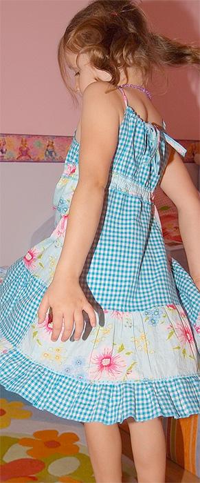 Top zum Kleid verlängern, Schnittmuster farbenmix
