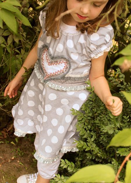 Schnittmuster Tunika-Kleid, Anleitung farbenmix