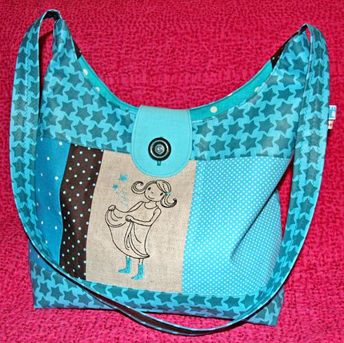 Märchen Tasche, selber nähen, kostenlose Schnittmuster, farbenmix