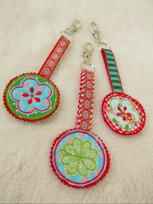 Taschenanhänger, Schlüsselanhänger, farbenmix, kunterbuntdesign