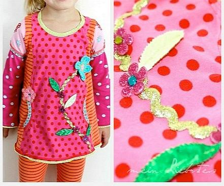 Schnittmuster Shirt dünne Kinder, Wiener Nähte, farbenmix Tipp