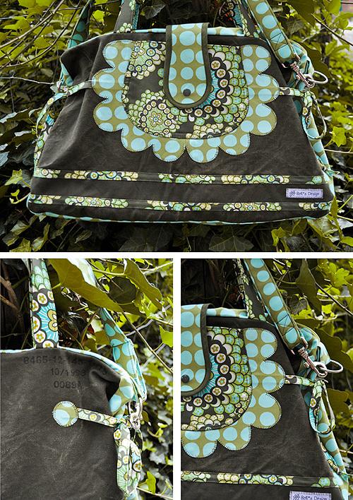 Shoppingbag, Einkaufstasche Schnittmuster, farbenmix