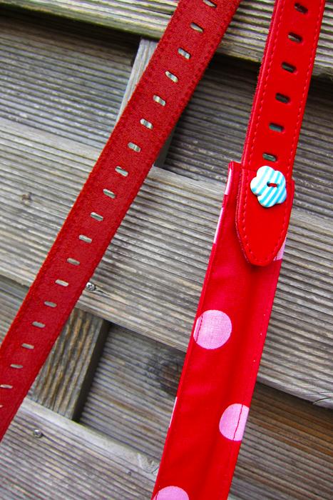 Taschenträger, Gürtel, gratis Schnittmuster farbenmix