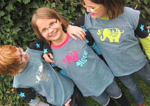 Schnittmuster Shirt, Jersey, farbenmix ANTONIA