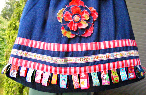 Webband, Borten, Bänder, Nähen, farbenmix