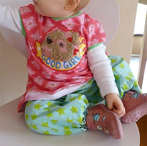 Schnittmuster für Babys und Kleinkinder, Anleitung farbenmix