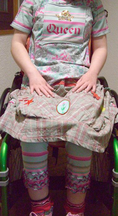 Rollstuhl Mode, Schnittmuster, nähen, farbenmix