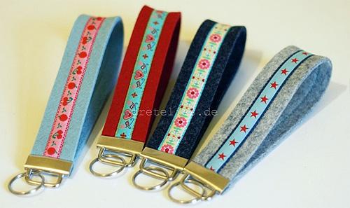 Stylefix, Schlüselbänder nähen, Anleitung, Tutorial farbenmix