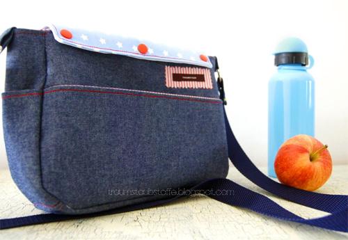 Schnittmuster Tasche mit Wechselklappen farbenmix
