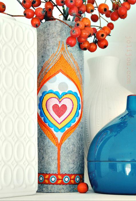Tutorial: Designer-Vase einfach selber machen, farbenmix