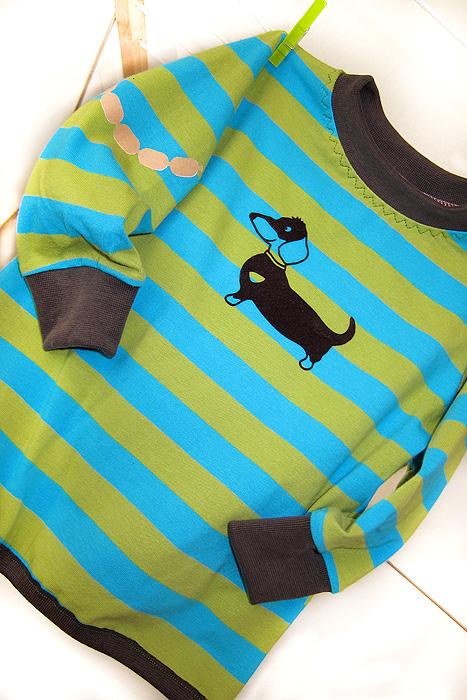 Schnittmuster Shirt / Skatershirt XATER, farbenmix, nähen