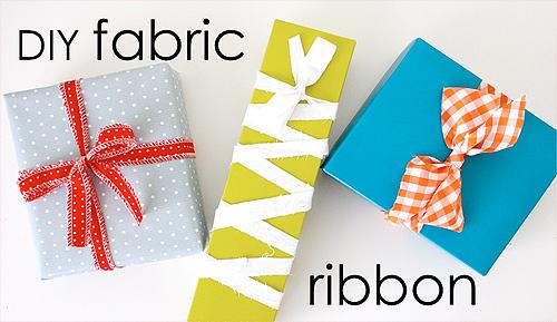 Geschenkband selber machen, Weihnachten, farbenmix