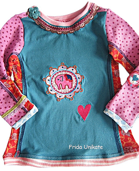 Shirt HILDE Schnittmuster farbenmix