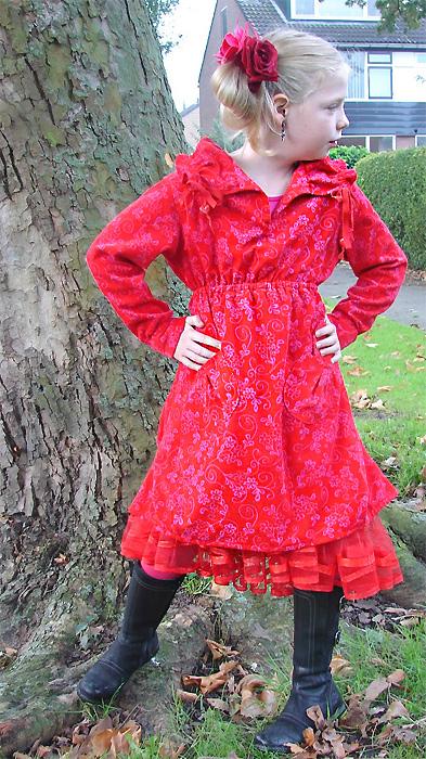 DAISY Schnittmuster Kleid farbenmix