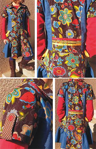 GABRIELLA Kleid Schnittmuster farbenmix