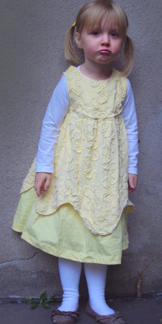 CARA Kleid Schnittmuster farbenmix