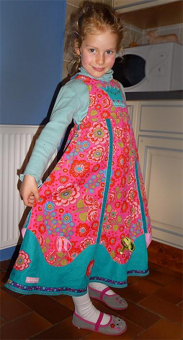 CARA Schnittmuster Kleid farbenmix
