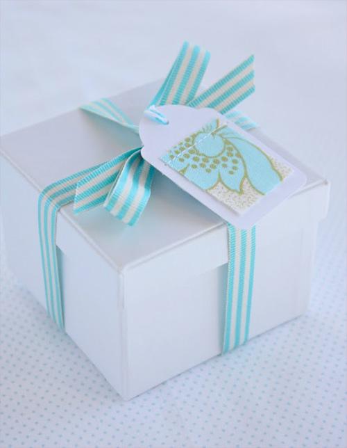 Tutorial Geschenkanhänger, nähen, basteln, farbenmix, Stoffreste