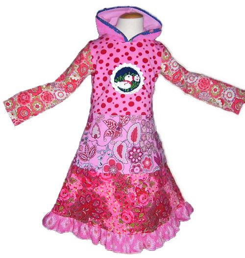 UTA Schnittmuster farbenmix Kleid kuschig warm Winterkleid