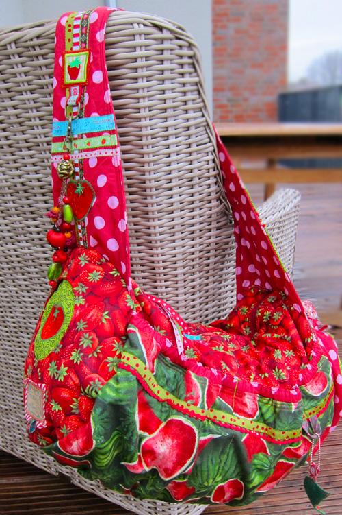 Schnittmuster Reisetasche, Umhängetasche, farbenmix