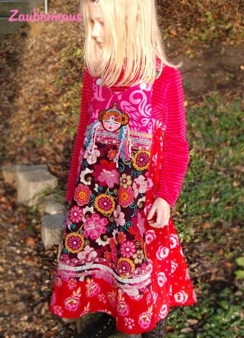 VIDA Schnittmuster Kleid farbenmix