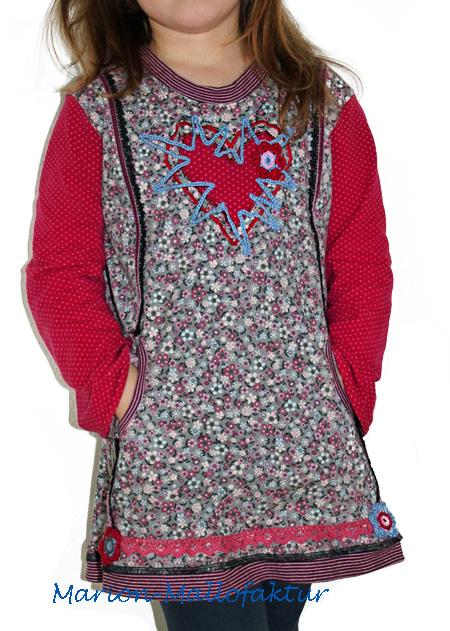 CLEMENTINE Oberteil Schnittmuster Shirt farbenmix