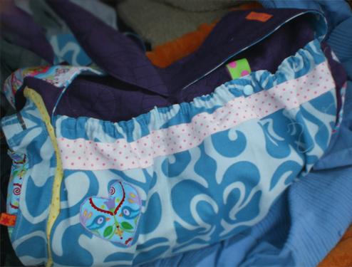 El Porto Schnittmuster Tasche farbenmix