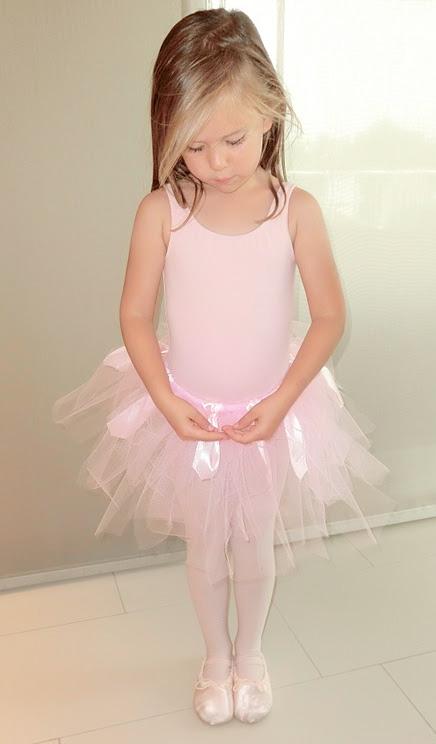 Ballettröckchen ohne Nähen, Tüll, Anleitung