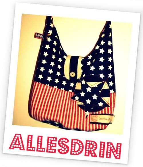 AllesDrin-Taschenset FREEbook gratis Schnittmuster farbenmix