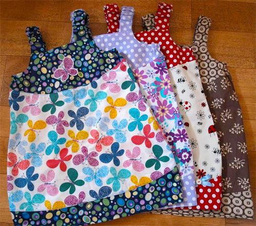 Pippi-Kleid Schnittmuster MADITA, farbenmix