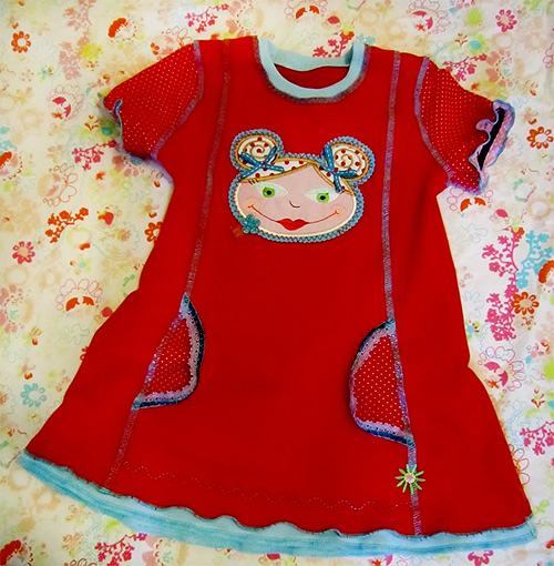 CLEMENTINE Schnittmuster Shirt Tunika farbenmix