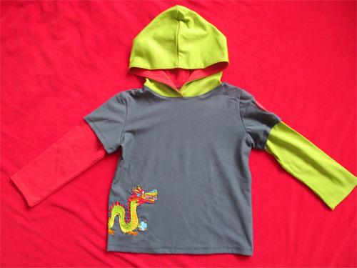 XATER Schnittmuster Shirt Jungs farbenmix