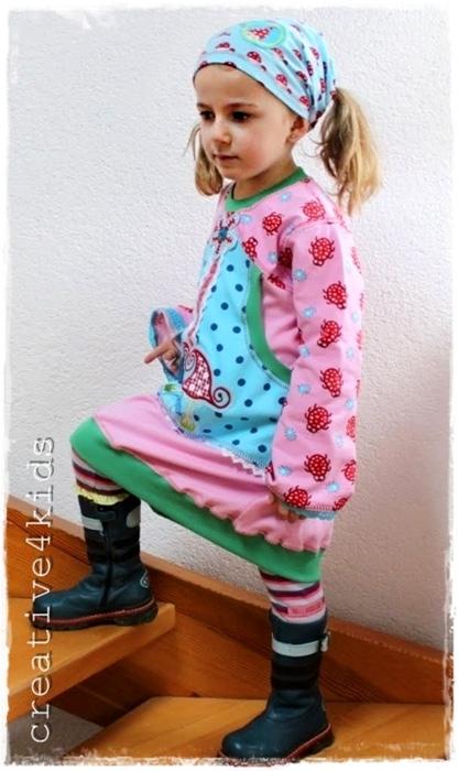 GEMMA Schnittmuster Kleid farbenmix