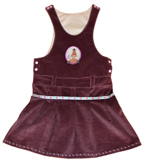 XANA Schnittmuster Kleid Trägerkleid farbenmix