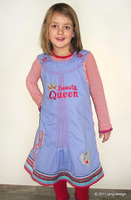 ODA Schnittmuster Kleid Trägerkleid farbenmix