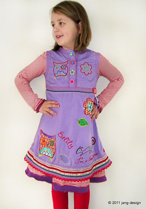 ARWEN Schnittmuster Kleid Trägerkleid farbenmix