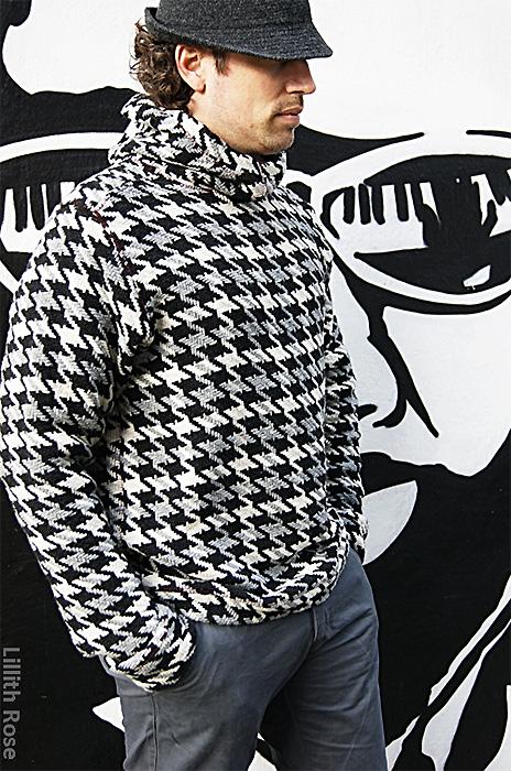 Fehmarn Schnittmuster Pullover Shirt Herren Mann farbenmix