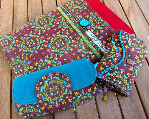 chirp ornaments, Taschenset, Schnittmuster, farbenmix