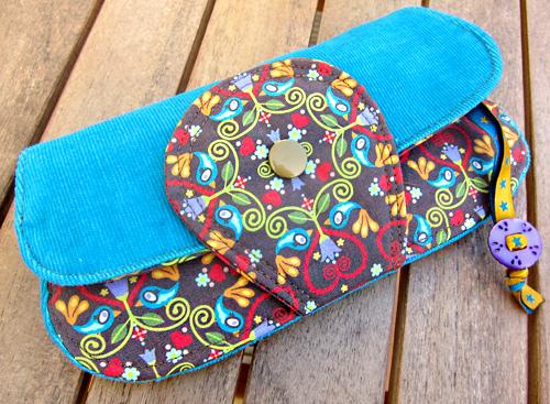 Taschen nähen, Schnittmuster farbenmix, chirp ornaments