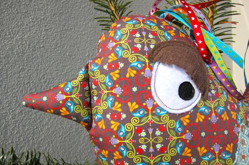 Vogel nähen, chirp ornaments, luzia pimpinella huups farbenmix