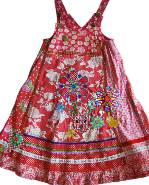 VIDA Schnittmuster Kleid Trägerkleid farbenmix
