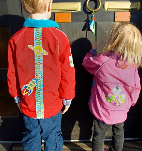 Schnittmuster Kinderjacke, Jacke, farbenmix.de, ZORIAN