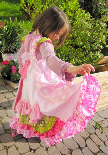 Einschulungskleid, Schnittmuster, Kleid FELIZ, farbenmix.de